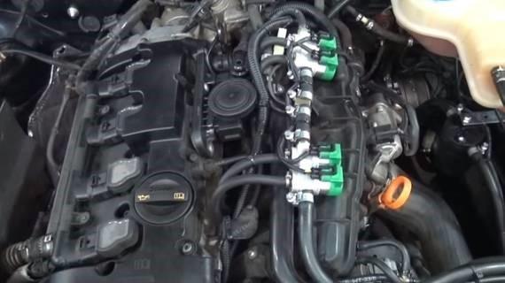 Установка ГБО на Audi A6 3.0 в Одессе