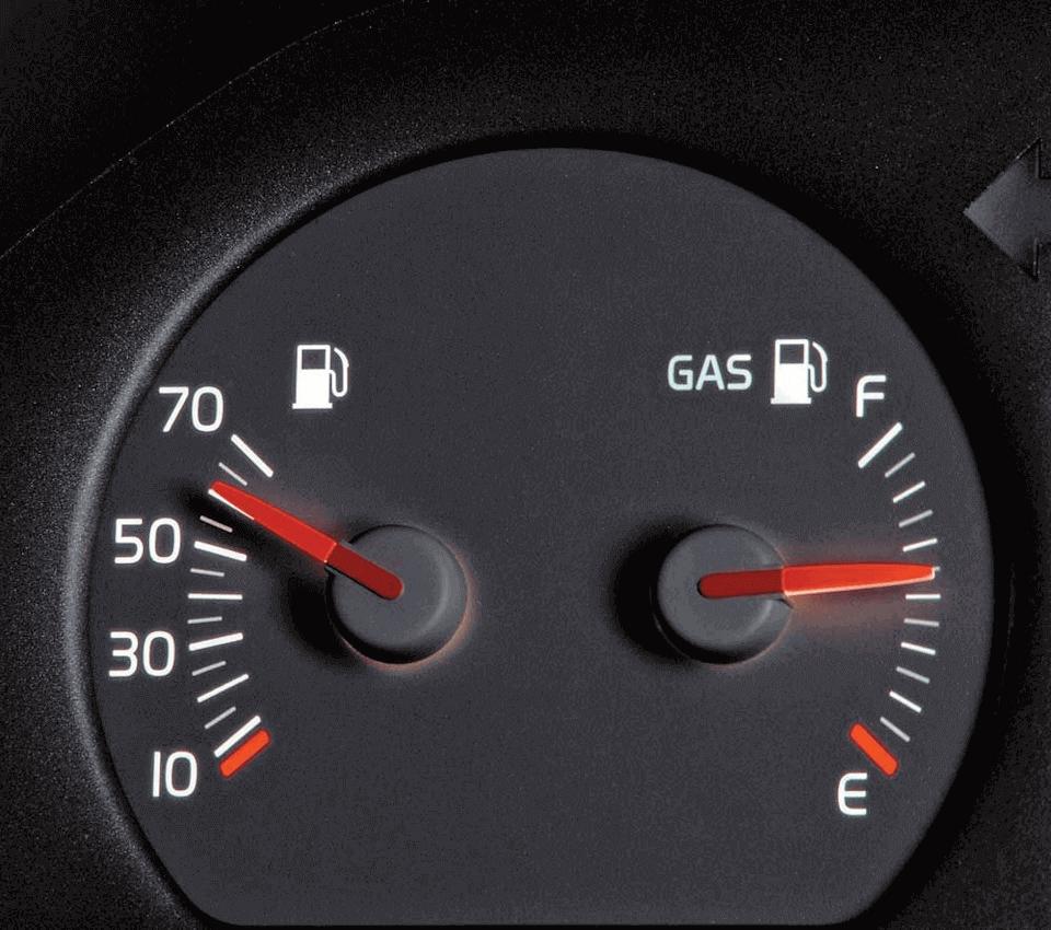 Расход газа на авто зимой
