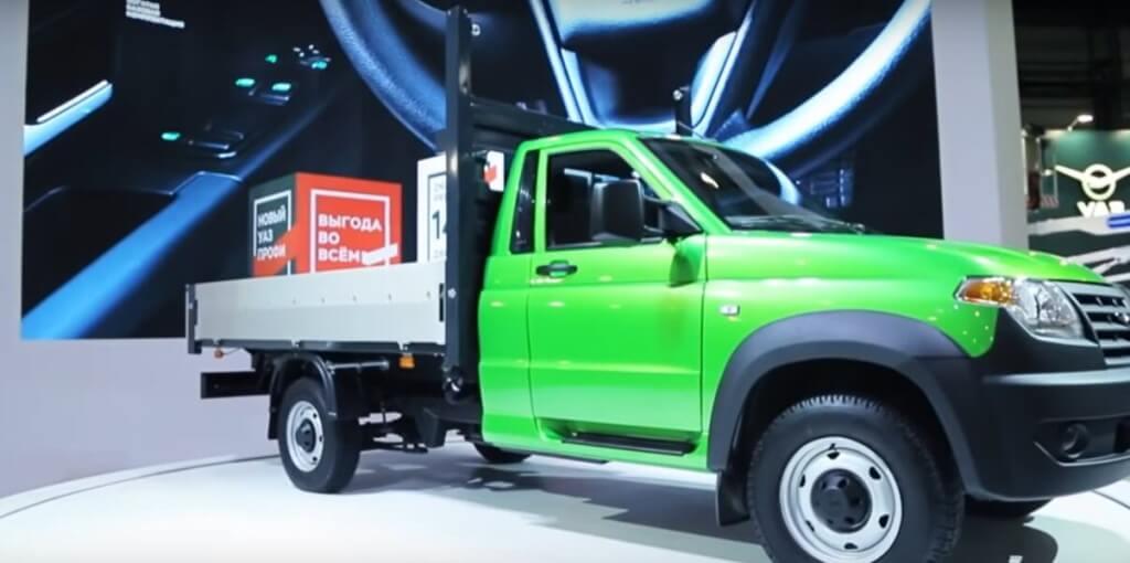 Газ на УАЗ Профи 5-го поколения